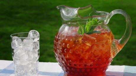 Παγωμένο τσάι μέντας