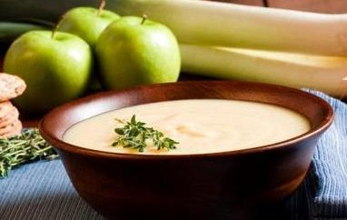 Σούπα με μήλο