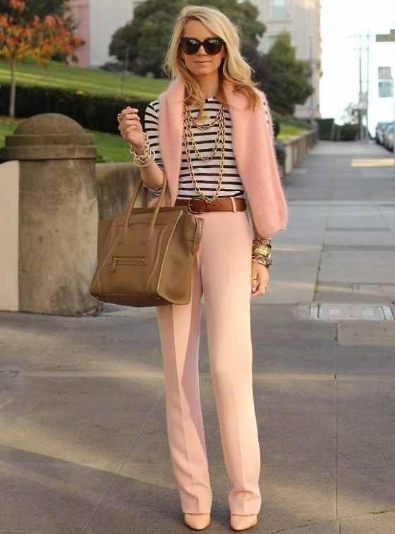 Μόδα και ροζ χρώμα 3