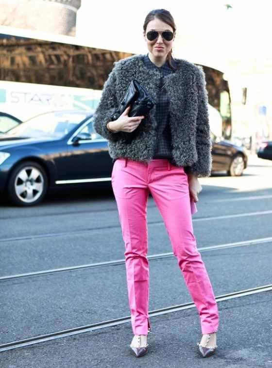 Μόδα και ροζ χρώμα 7