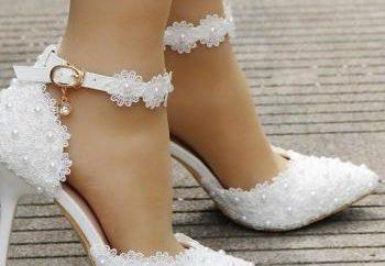 Νυφικά παπούτσια 2019