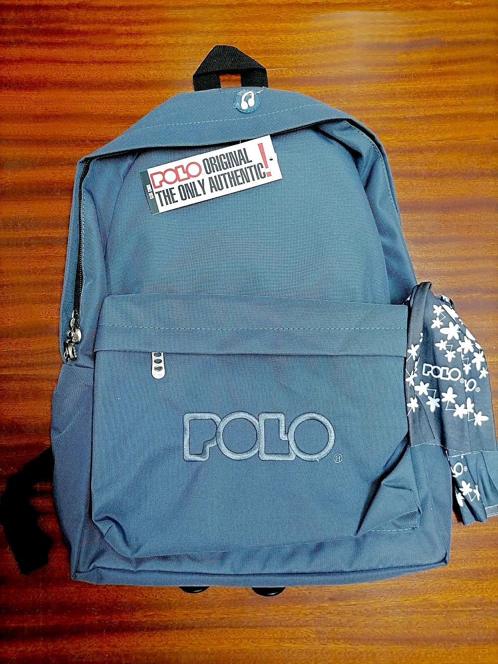 backpack polo για αγόρι
